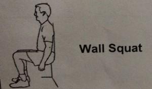 Wall Squat